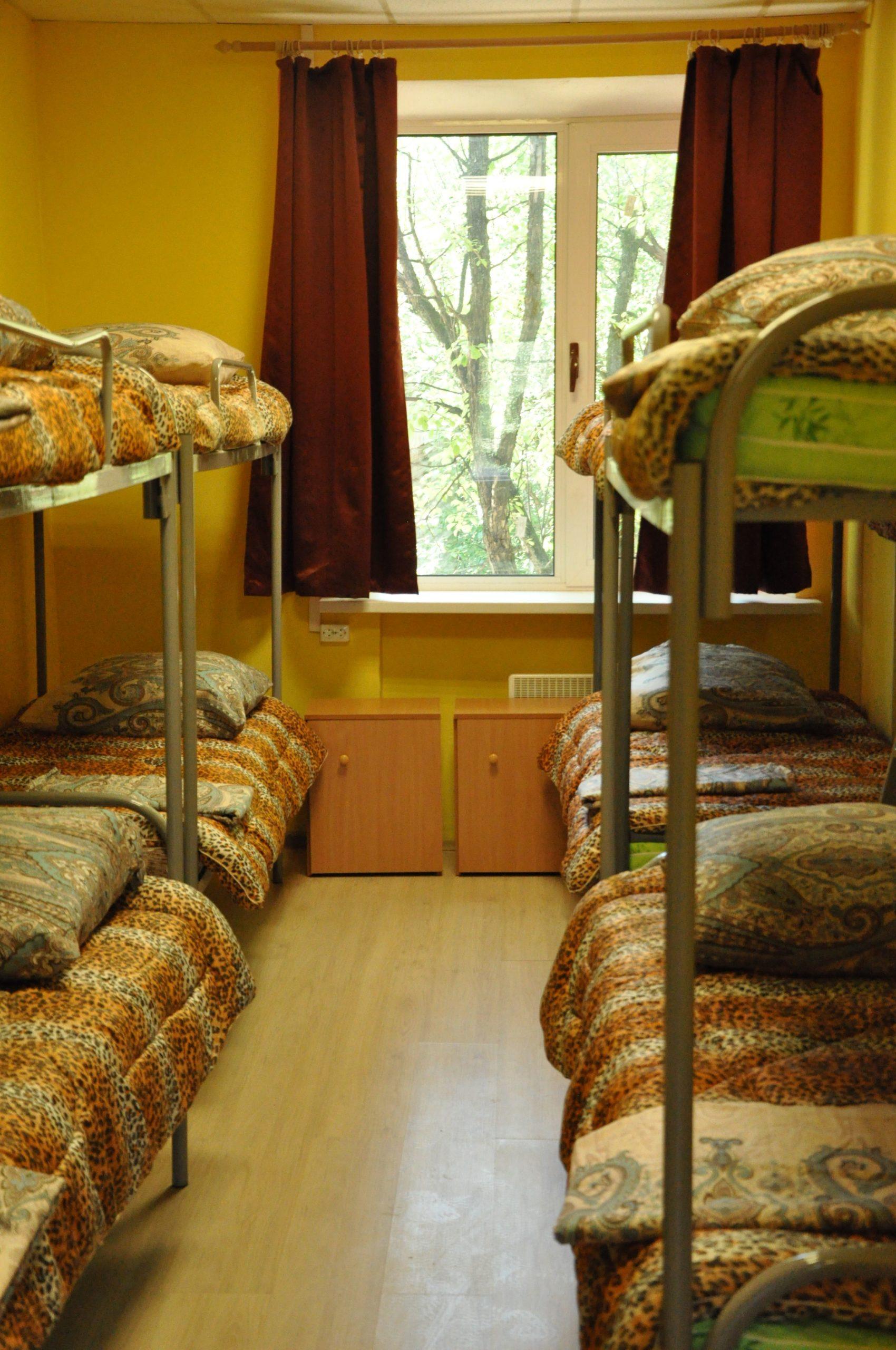 Снять комнату в хостеле на 8 мест